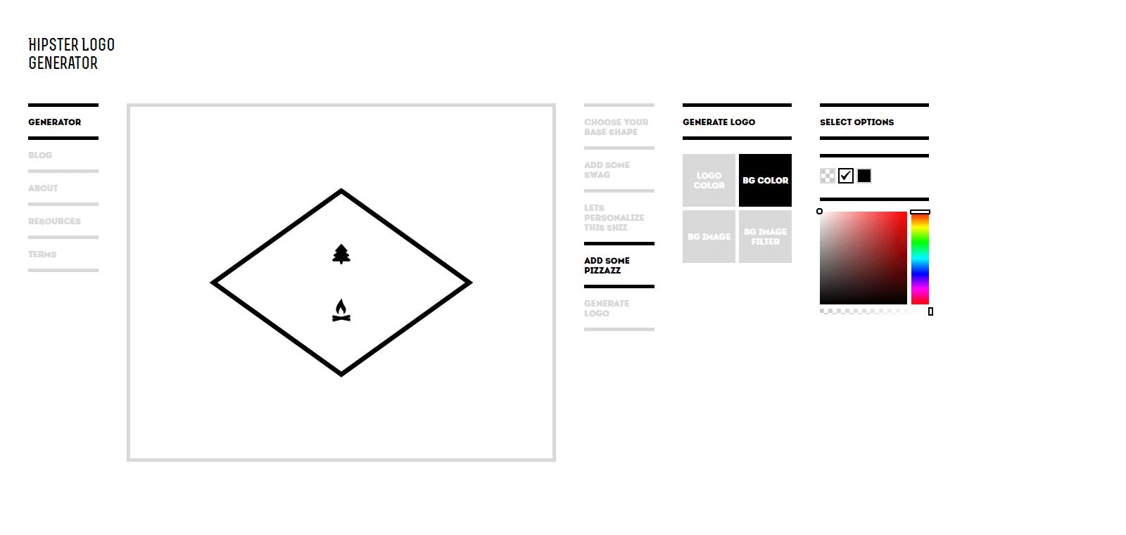 Cretsiz logo tasar m programlar logo tasar m nas l for Hipster logo generator