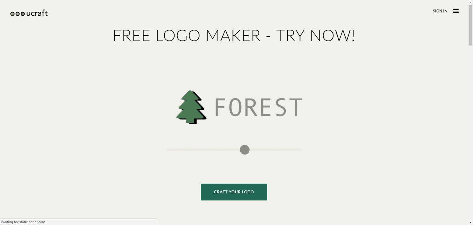 Ucraft Logo Maker - Bidolubaski